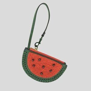 NWT Tory Burch watermelon 🍉 leather pouch